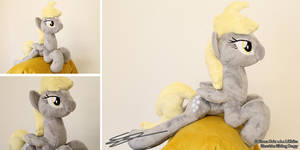 Shoulder Sitting Derpy Plush