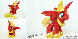 Princess Big Macintosh Handmade MLP Plushie