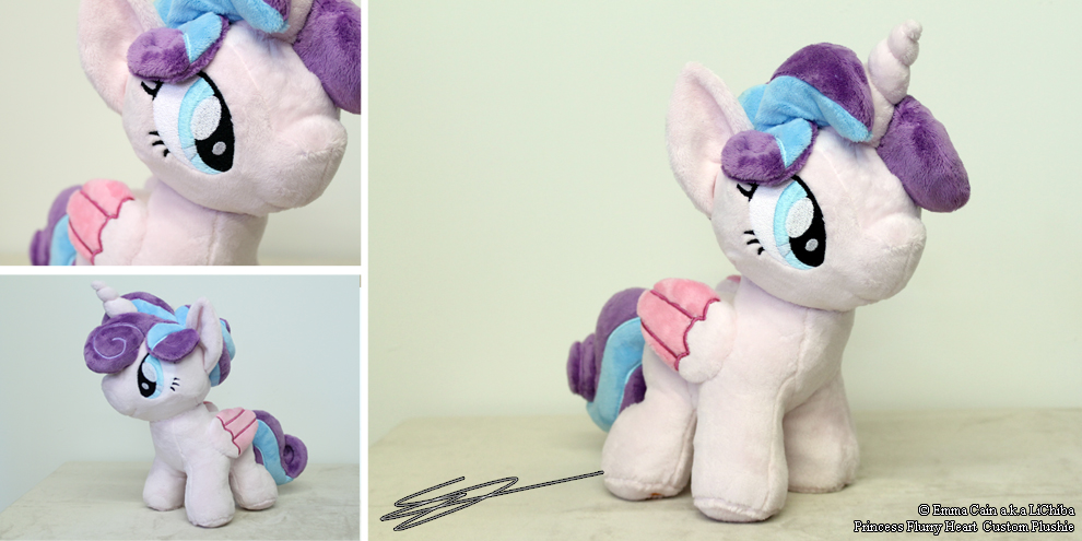 Princess Flurry Heart Handmade Custom MLP Plushie