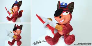 FNAF Custom Foxy Night Guard Plush