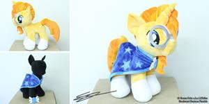 Sunburst Custom 17 inch Pony Plushie