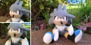 Silver The Hedgehog Plushie V1
