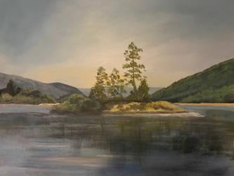 Scottish scenery by astridvanhal1971