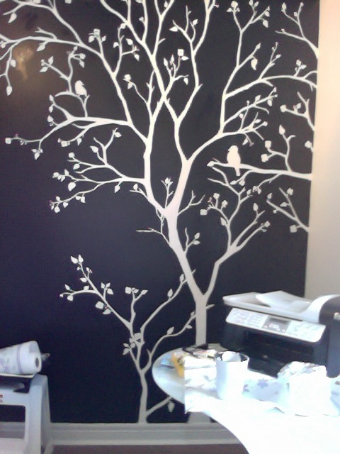 White Tree Mural By Inkjections On Deviantart