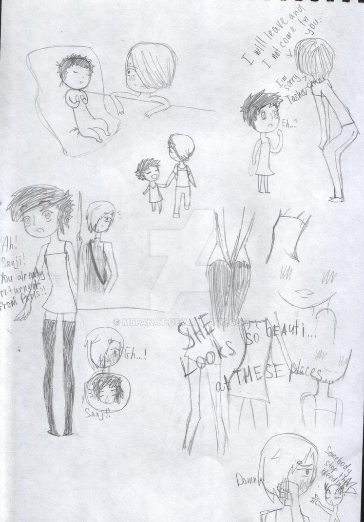 Story about Tasha and Sanji-kun ^^! by M5fanat