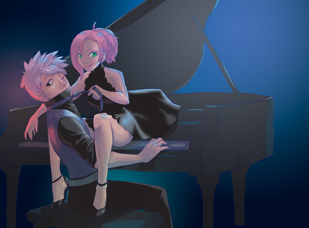 Naruto: Play Me A Song, Piano Man By Ahnline On DeviantArt
