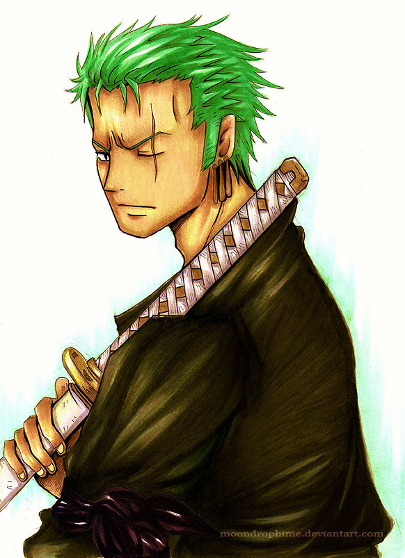 New World - Roronoa Zoro by MoondrophimeZoro New World Wallpaper
