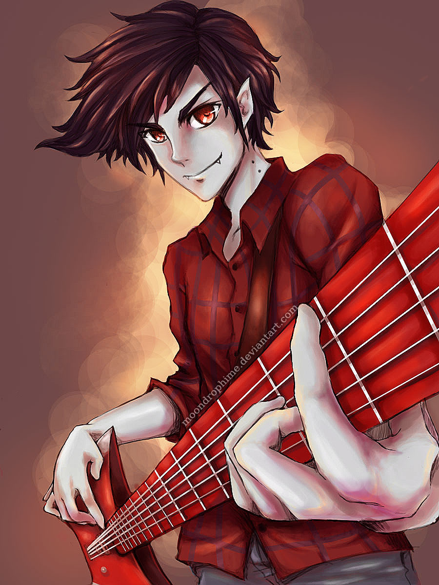 Marshall Lee the Vampire King by elleinead