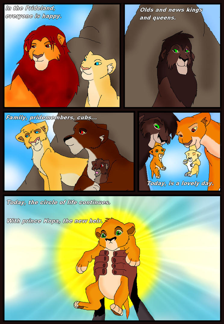 Lion king 3 page 1 by Gemini30 on DeviantArt