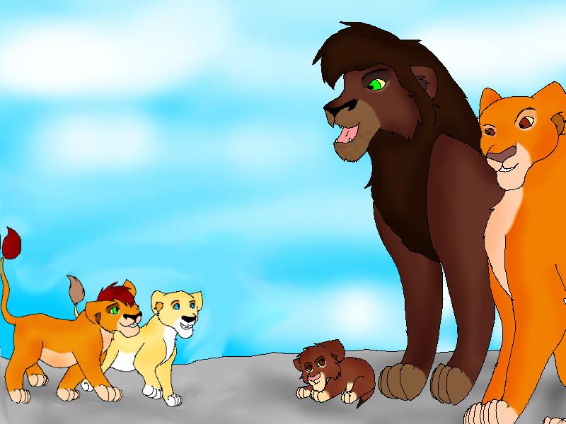 Image Gallery kovu and kiara cubs