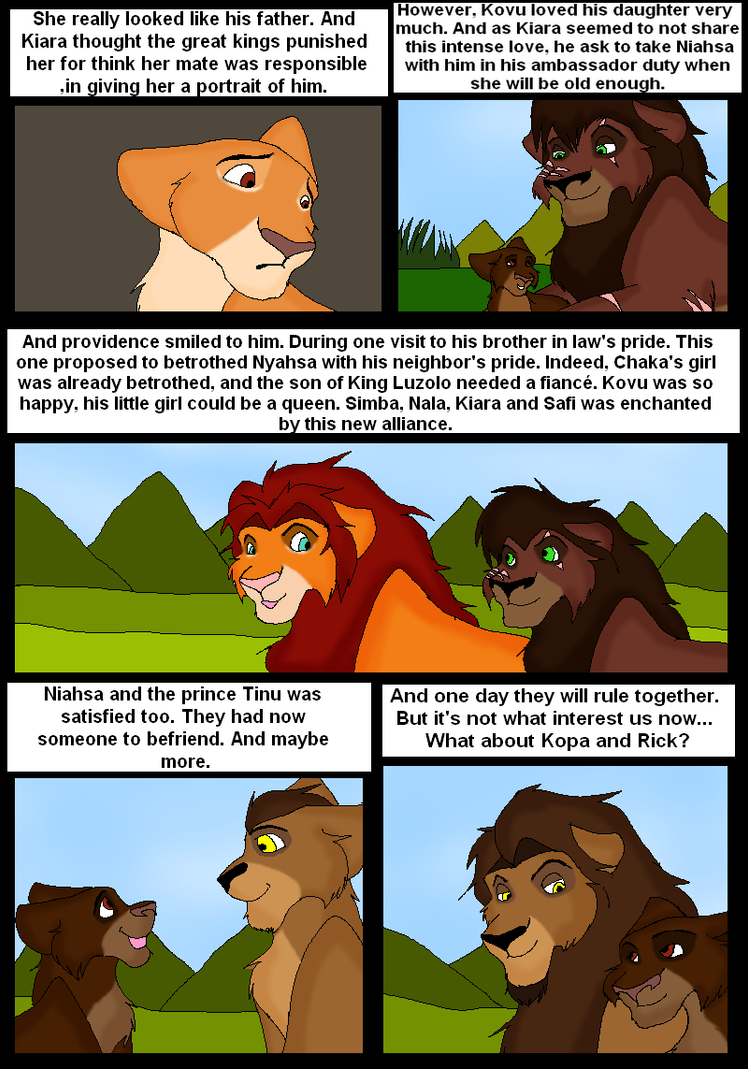 Lion king 3 page 61 by Gemini30 on DeviantArt