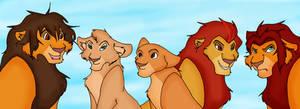 Simba's cub as  adulte