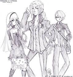 Persona 3: School Strega by karniz