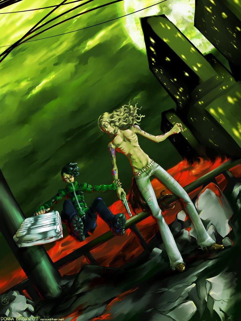 Persona 3: Moonlight Bridge by karniz
