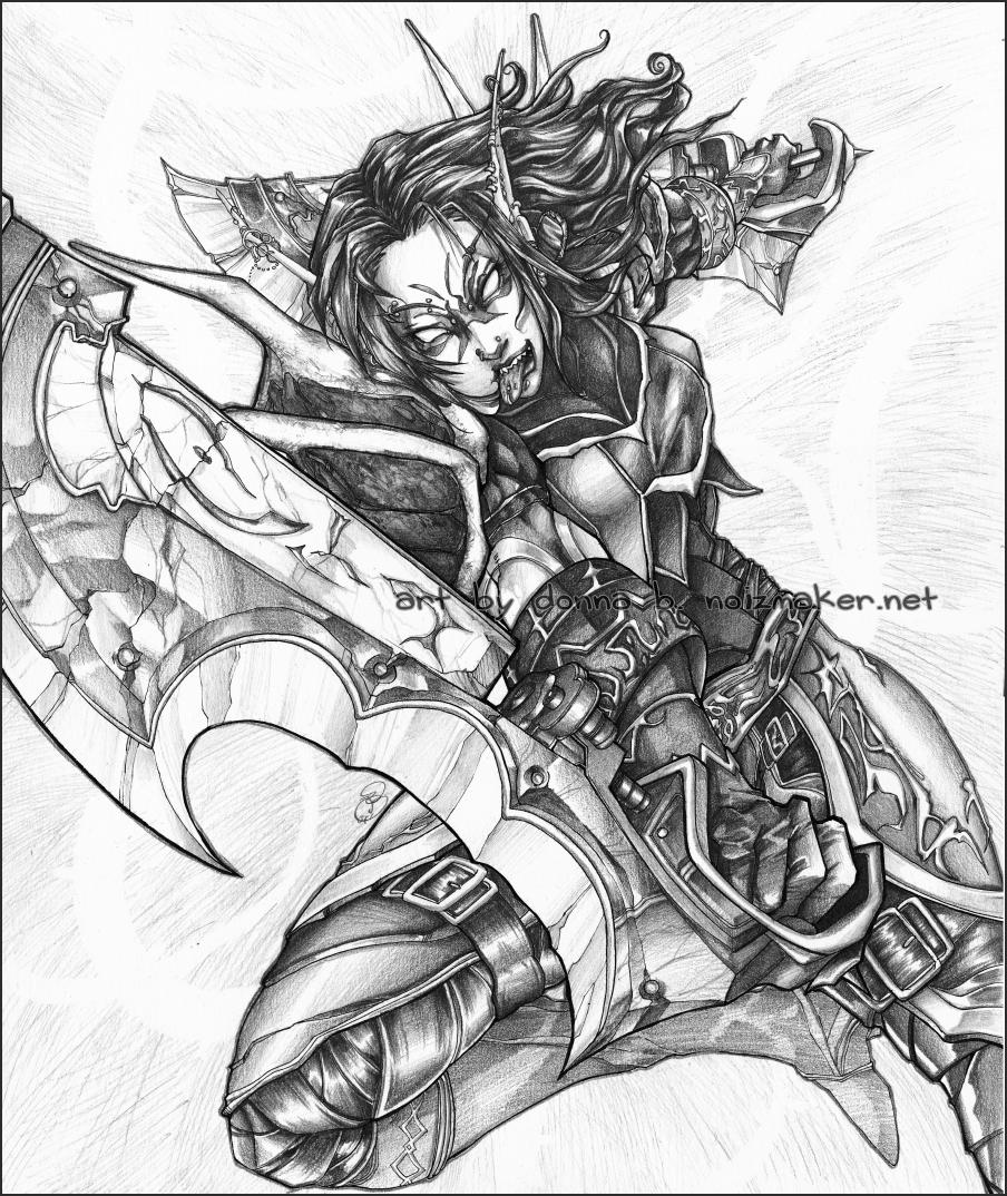 WoW: Vegi Bloodclaw by karniz