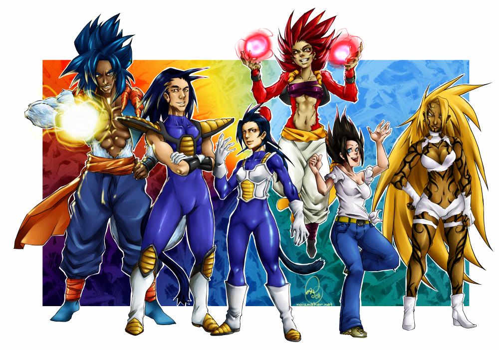 DBZ+OC: Return of the Sayajin by karniz