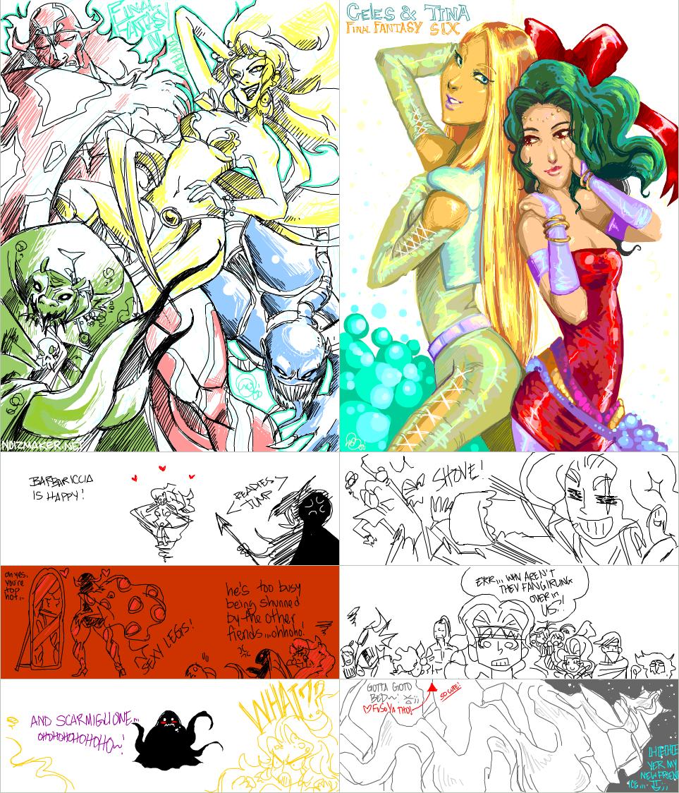 Tegaki: Final Fantasy 001 by karniz