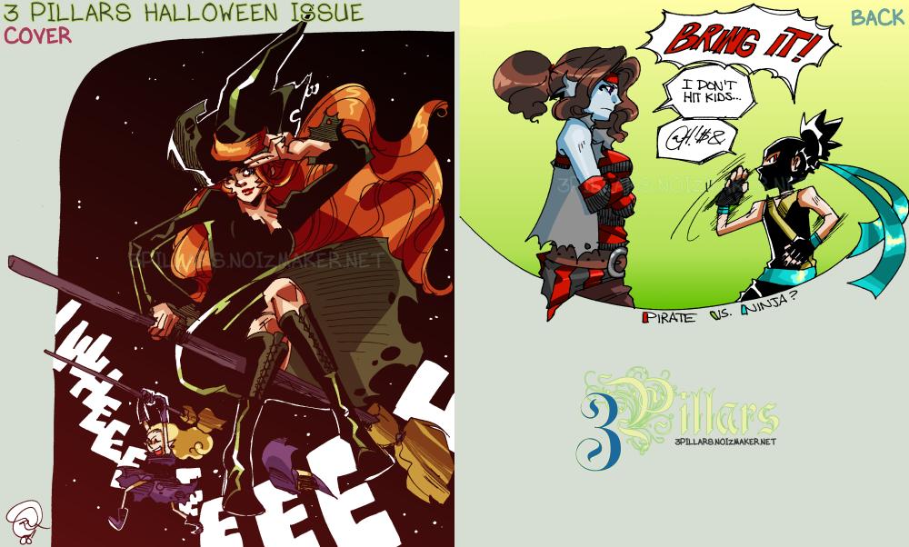 3III: Halloween Issue 01 by karniz