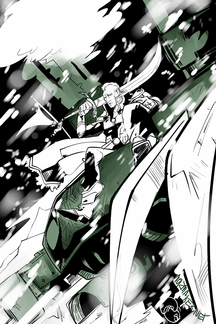 FFVI: General Leo by karniz