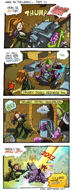 VoW: Comic 001 by karniz