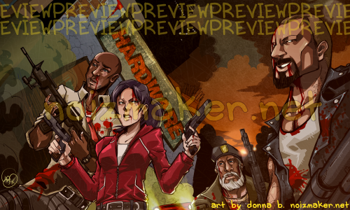 Left 4 Dead: Characters by karniz