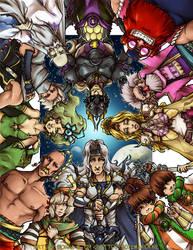 Final Fantasy IV: Heroes by karniz