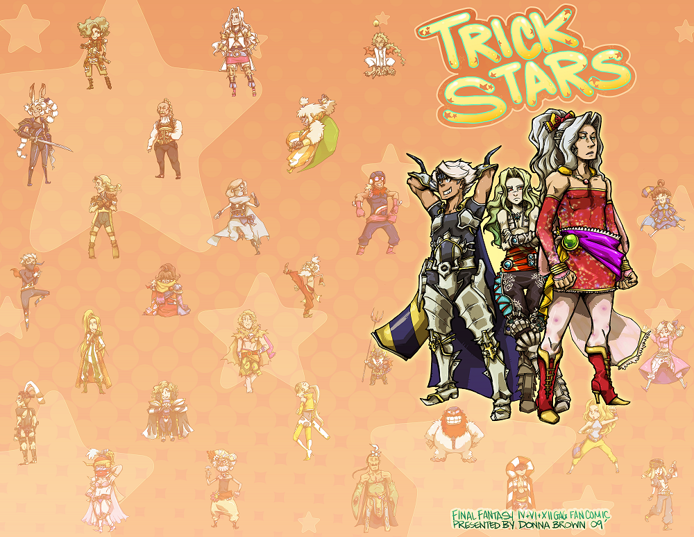 FF Fan Comic: Trick Stars by karniz