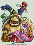 SSBBrawl: Mario Team