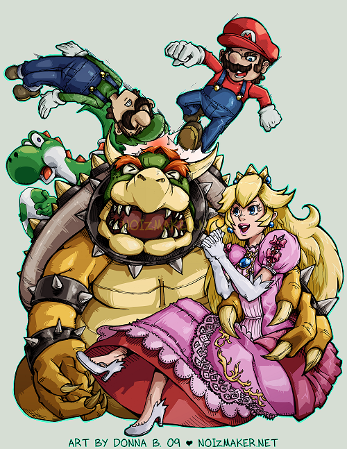 SSBBrawl: Mario Team by karniz