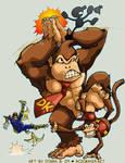 SSBBrawl: Donkey Kong Team