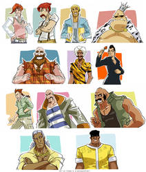 Punch-Out: Civilian Clothing by karniz