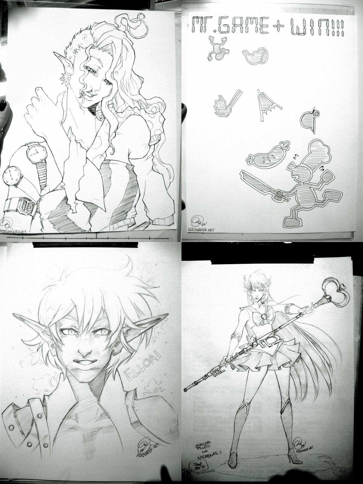 Commissions: Anime Next 09 by karniz