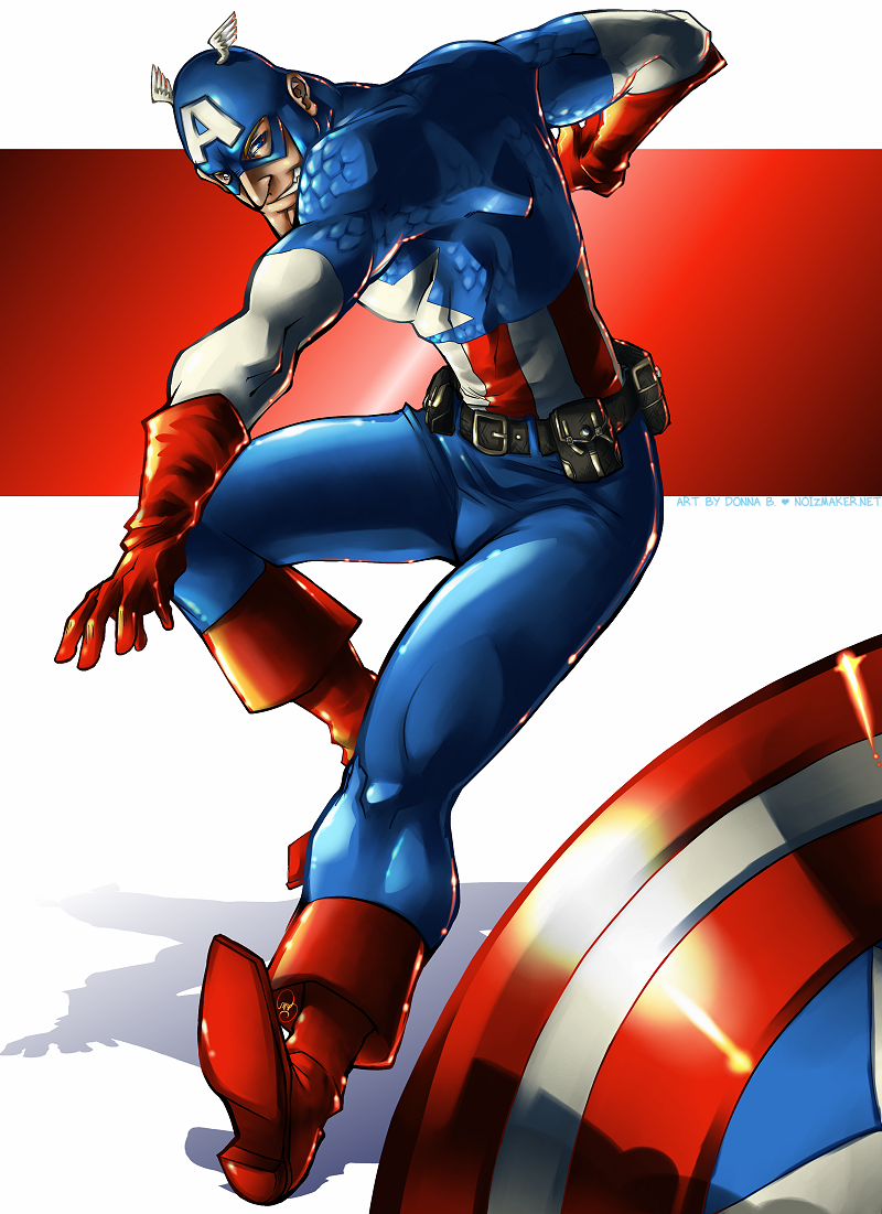 Commission: Captain America by karniz