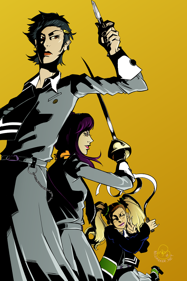 Persona: Yukino Eriko Ayase by karniz