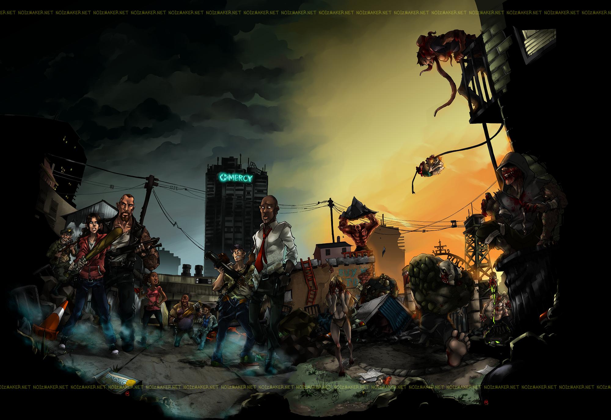 Left 4 Dead: Ruined City by karniz