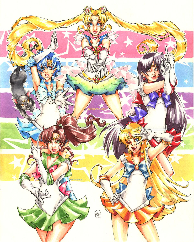 Sailormoon: Inner Soldiers by karniz