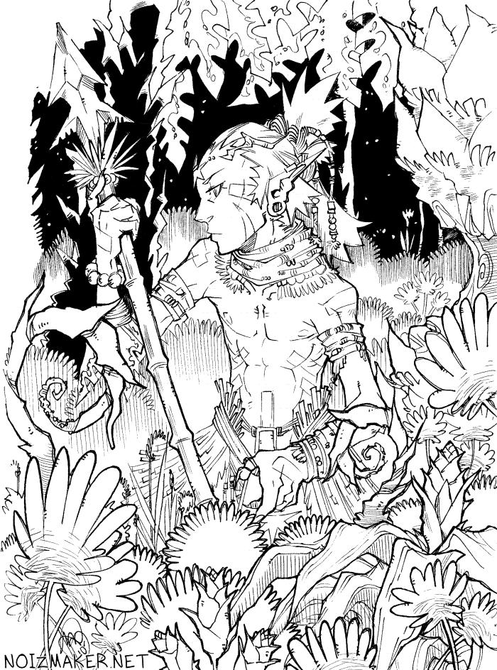 3 Pillars: In the Jungle by karniz