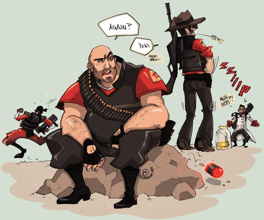 Team Fortress 2: Fresh Brew by karniz