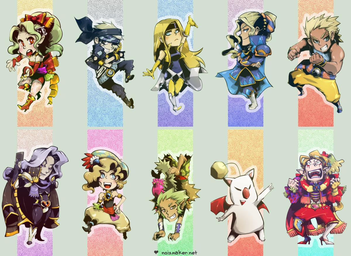 Final Fantasy VI: Bookmarks by karniz