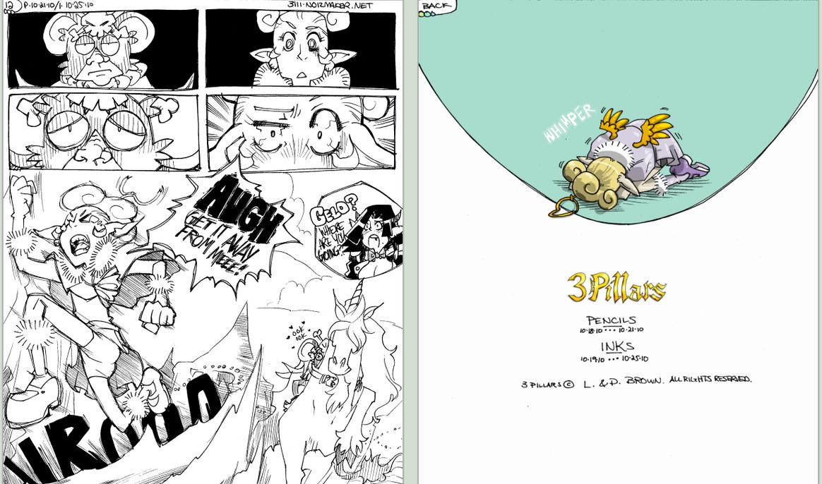 3 Pillars: Halloween Comic pt5 by karniz
