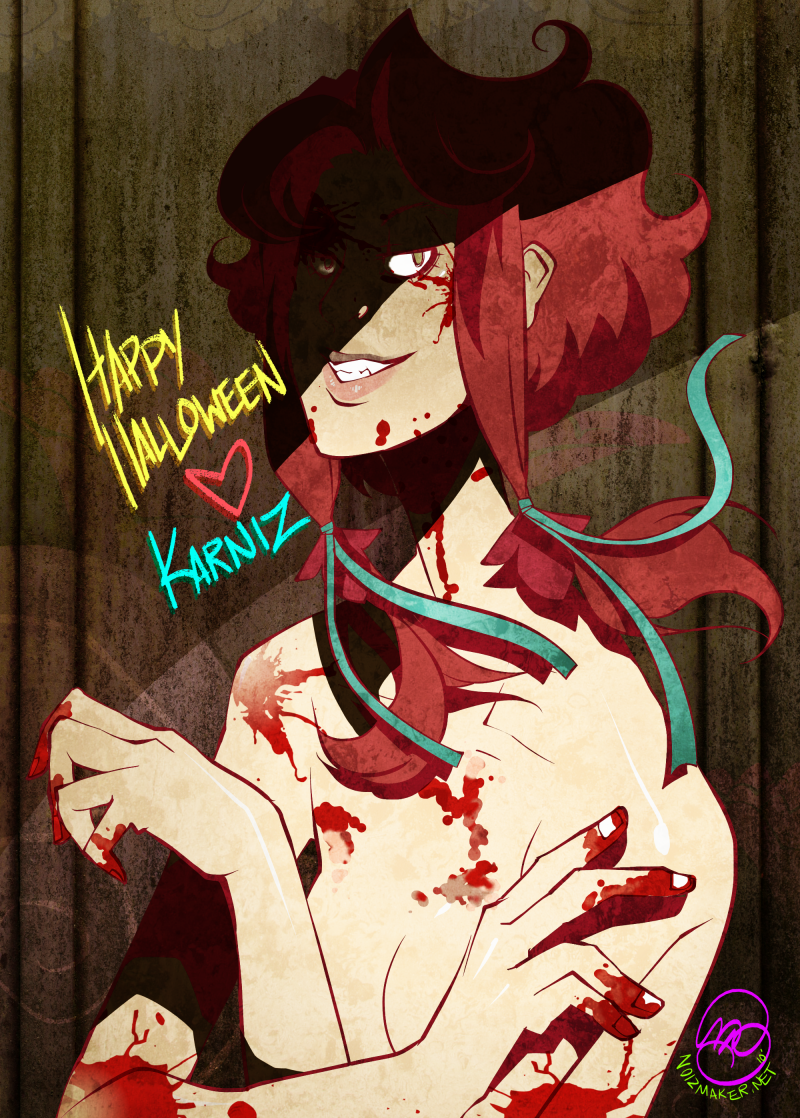Zea: Happy Halloween by karniz