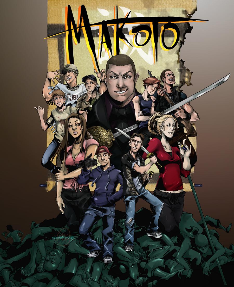 Commission: Makoto Movie Cover by karniz