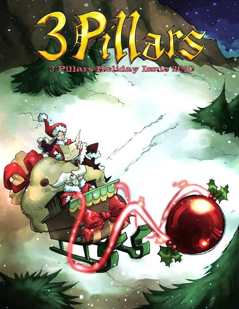 3 Pillars: Holiday 2010 Cover by karniz