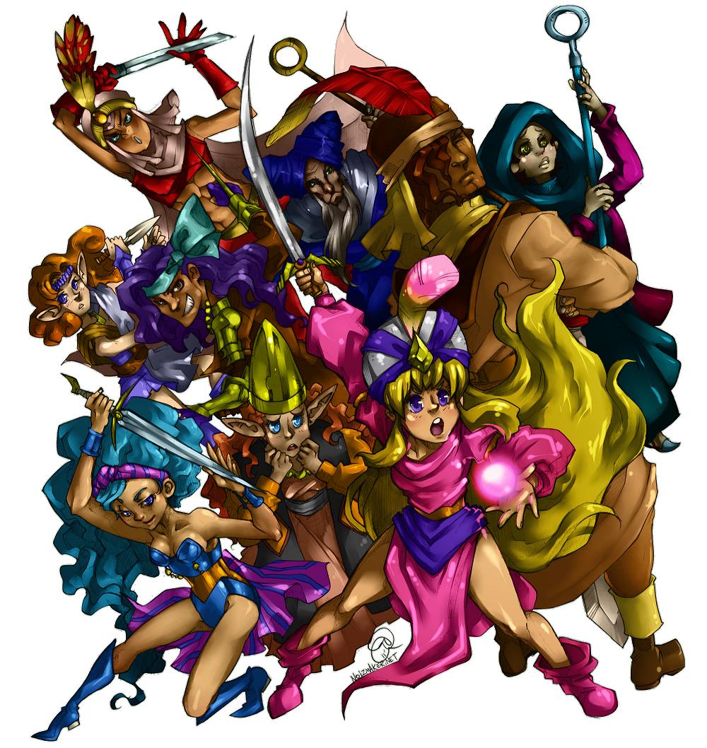 Crystal Warriors: Onto Battle by karniz
