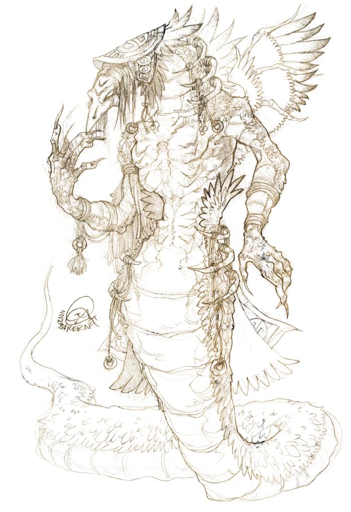 Original: Serpent Shaman by karniz