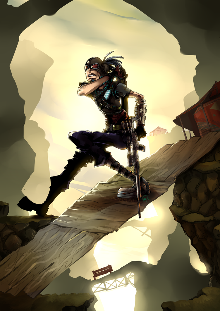 Borderlands: Ready... Aim... by karniz
