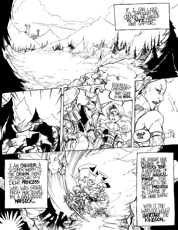Viceroy: Page Two by karniz