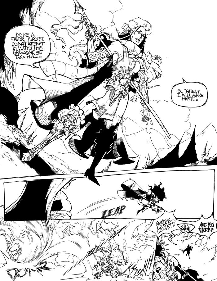 Viceroy: Page Five by karniz