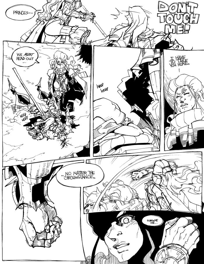 Viceroy: Page Fourteen by karniz