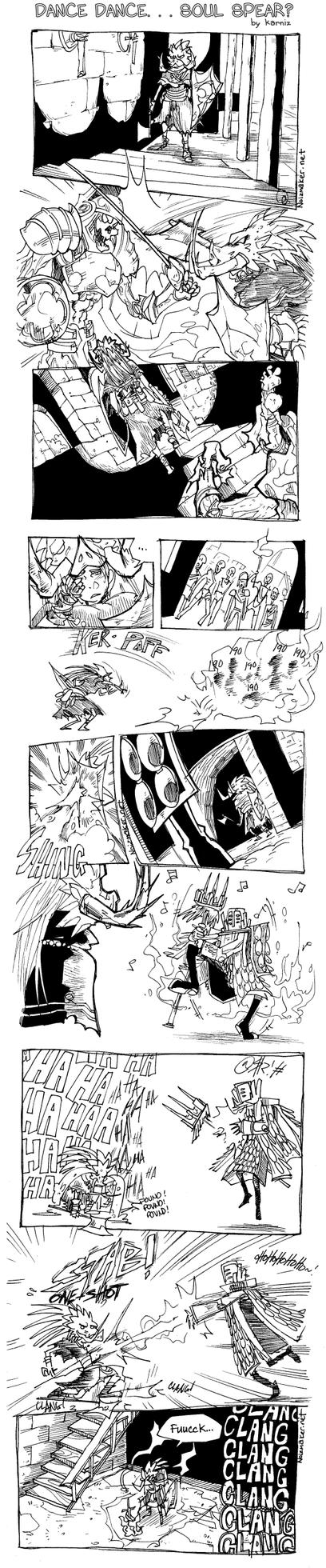 Dark Souls: Techno Priest by karniz